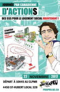 JOURNÉE PANCANADIENNE D'ACTIONS 22 NOVEMBRE MANIF-ACTION