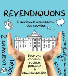 Revendiquons l'ancienne Institution des sourdes !