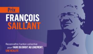 Le Comité logement du Plateau Mont-Royal reçoit le Prix François Saillant